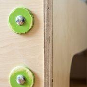 Berken houten éénpersoonsbed op maat