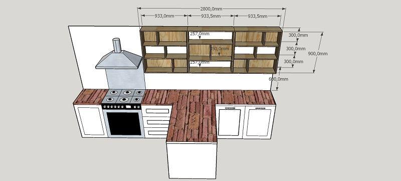 Ontwerpen whats art for Keukenkast ontwerpen
