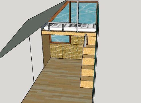hoogslaper op maat onder schuin dak